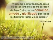 Deseos de mi corazon de Dios Padre