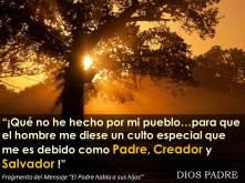 Padre, Salvador y Creador