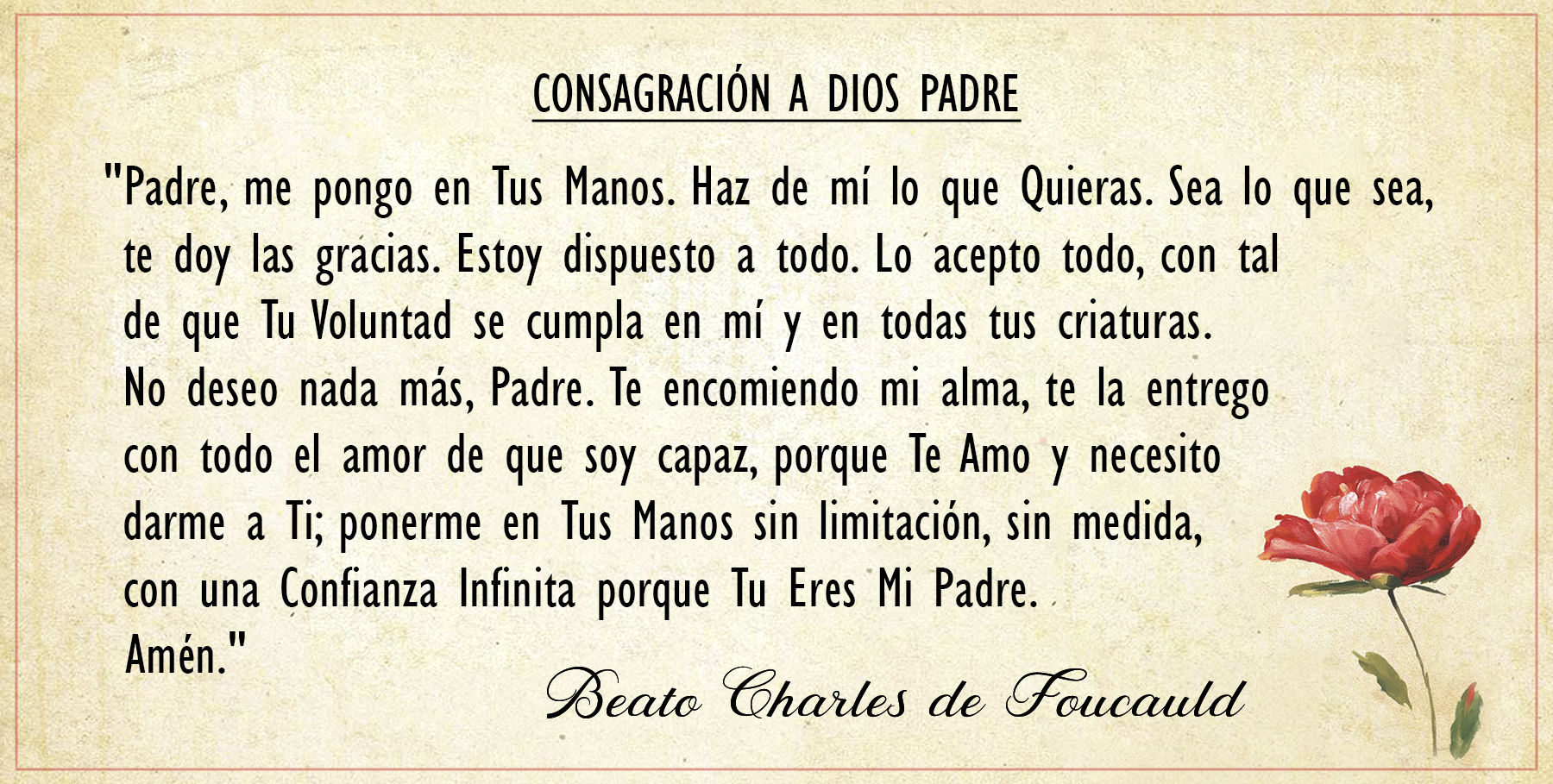 Consagracion -