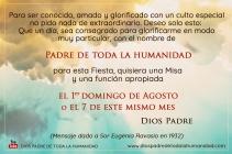 Postal Dios Fiesta