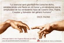 Postal Dios Gloria